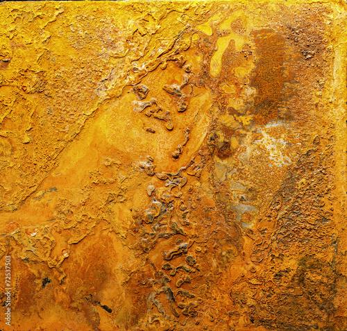 canvas print picture Rost Textur