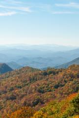 Great Smoky Mountain Autumn Panorama II