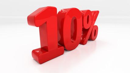 3D ten percent