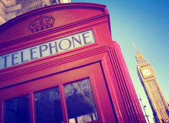 Telephone Booth Big Ben Travel Destination