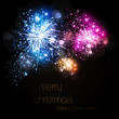 Happy New Year vector celebration background 2015, easy all edit