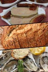 Buffet Gastronomique : Foie gras -  Huîtres