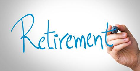 Retirement hand writing