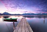 Fototapety stiller Tagesanfang am See