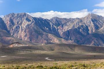 Mountains Plateau Road Landscape