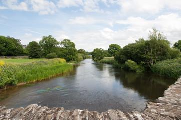 River Teifi near Cardigan Wales
