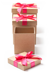 Present Boxes - Stock Photo