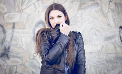woman fashion portrait