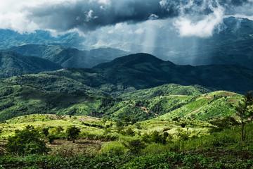Unwetter über Myanmar