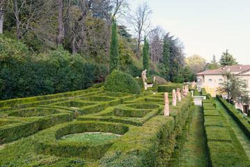 Villa Spada garden park in Bologna, Italy.