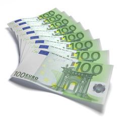 100 Euro Fächer 2