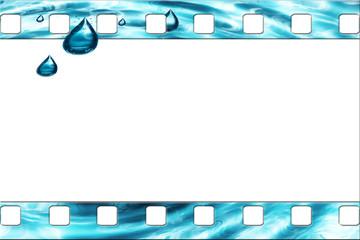 Dia - Rahmen - Wasser