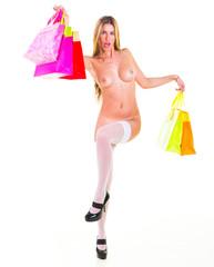 Shopping Spree Buying Goodies