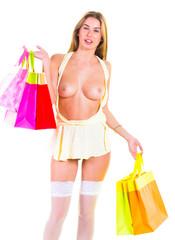 Buying Goodies Got Naked