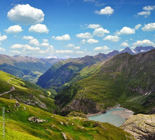 Fotobehang Alpen Alps in Nationalpark Hohe Tauern, Austria