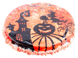 Handmade halloween cake