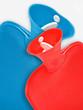 canvas print picture - Wärmflaschen