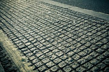 Old Cobblestone lane