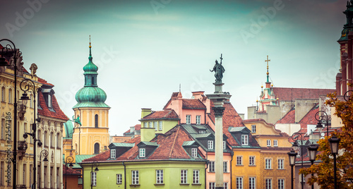 Warsaw Old Town Square - 72547386