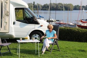 Reisemobil Camping