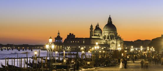 Venice in sunset.