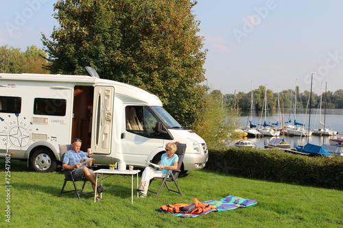 Papiers peints Camping Wohnmobilurlaub