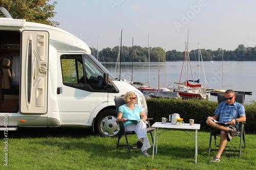Papiers peints Camping Wohnmobilreise