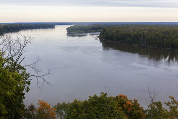 Mississippi River, Hannibal, Missouri