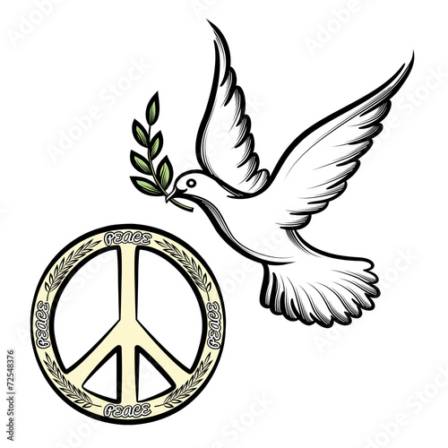Pacific and the dove of peace - 72548376