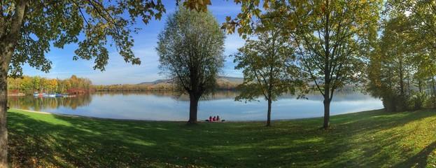 Landschaft am Breitenauer See