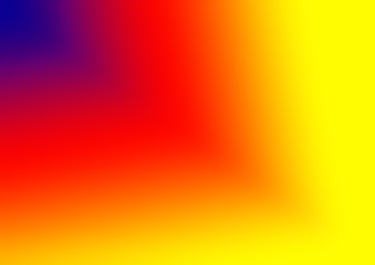 blue to yellow colorful gradient background