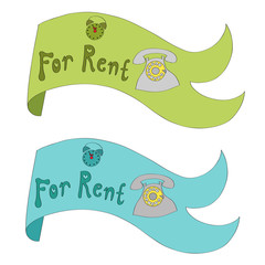 Ribbon For rent