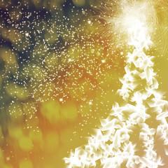 navidad y árbol luminoso