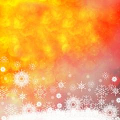 hermoso fondo de navidad con nieve
