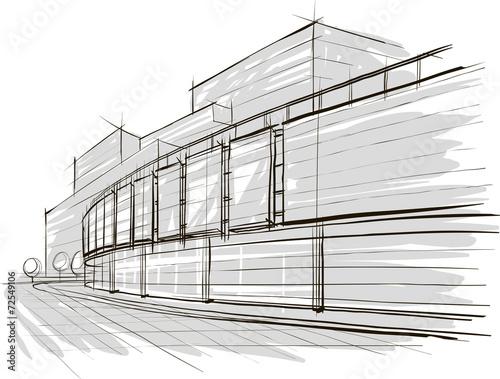 sketch of stadium - 72549106