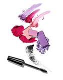 Fototapety powder liquid make up beauty mascara pencil