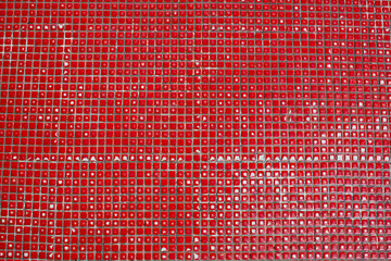 tiles with red color background texture