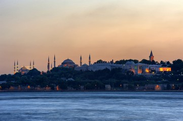 One Of the Istanbul's Evening