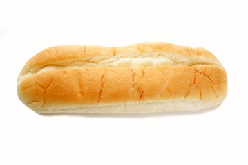 A Fresh Organic Sub Roll Over White