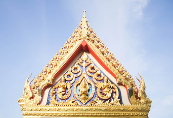 Roof/Roof of temple in Pattani, Thailand