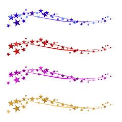 Weihnachtlicher Hintergründe mit Sternen