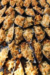 Cozze Gratinate - Cucina Mediterranea