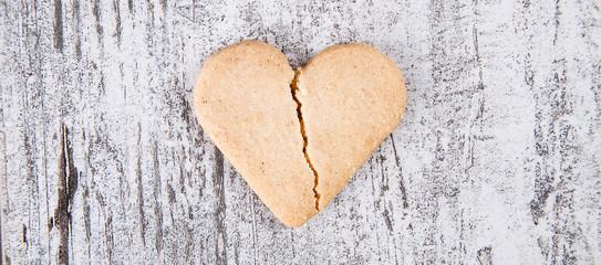 biscotti cuore spezzato