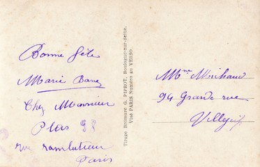 French Antique Postcard 93