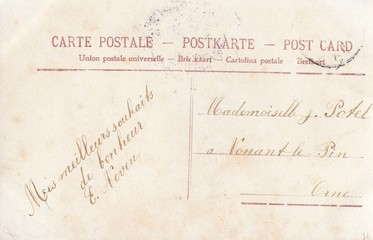 French Antique Postcard 94