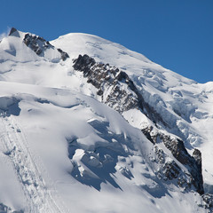 Summit of the Mont Blanc
