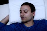 Fototapety Portrait of a sleeping man