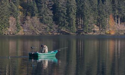 pêche en barque