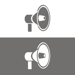 Icono megáfono BN