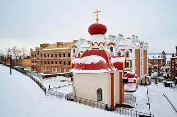 Часовня на территории Иверского монастыря Самара